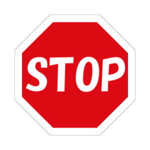 一時停止 標識 アメリカ