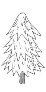クリスマスツリー 書き方10