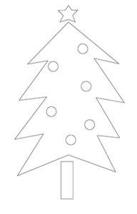 クリスマスツリー 書き方3