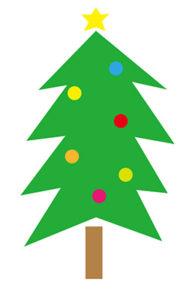 クリスマスツリー 書き方4