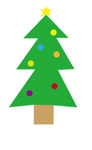 クリスマスツリー 書き方7