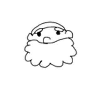 サンタクロース 書き方12