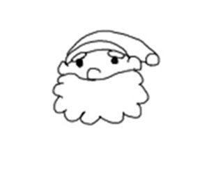 サンタクロース 書き方13