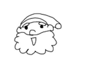 サンタクロース 書き方14