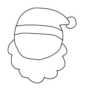 サンタクロース 書き方3